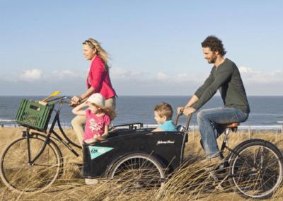 Vakantie aan de Belgische kust arrangementen fietsvakantie