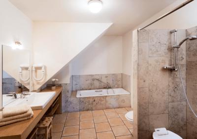 Vakantie aan zee Domein Rietvelde badkamer