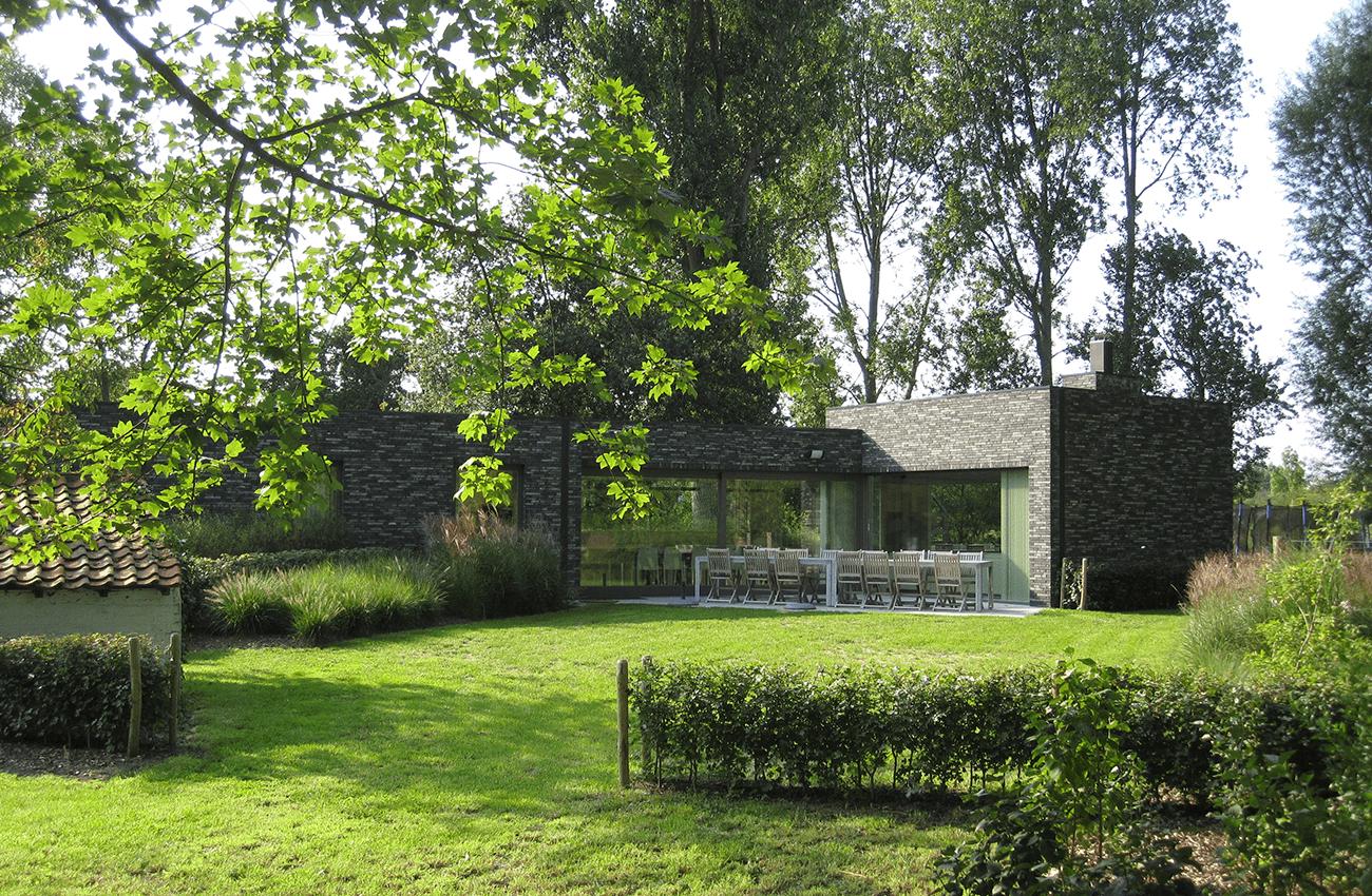 Vakantiehuis aan zee Duinpaviljoen tuin