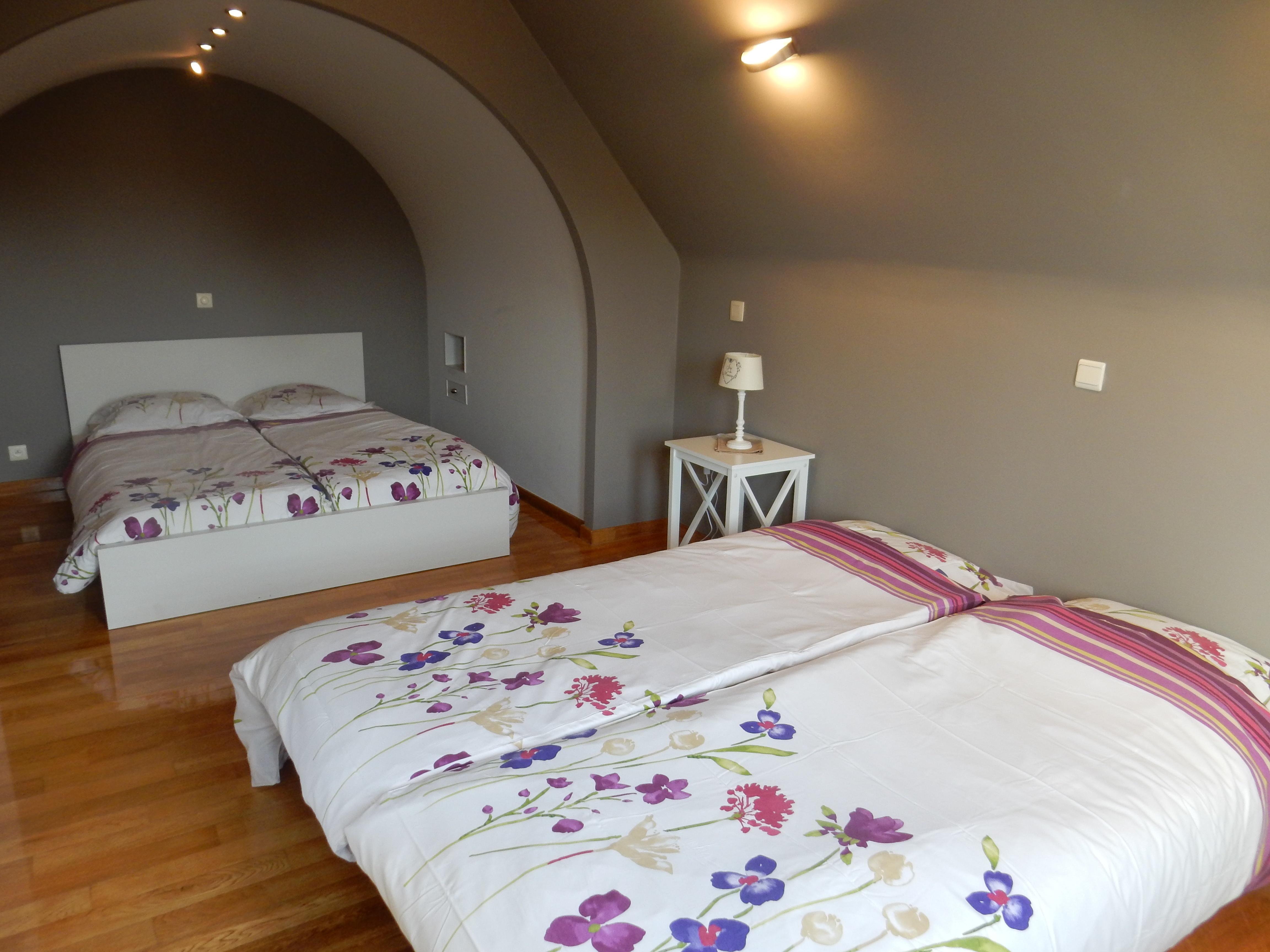 vakantiehuis aan zee Villa Marie Oli slaapkamer
