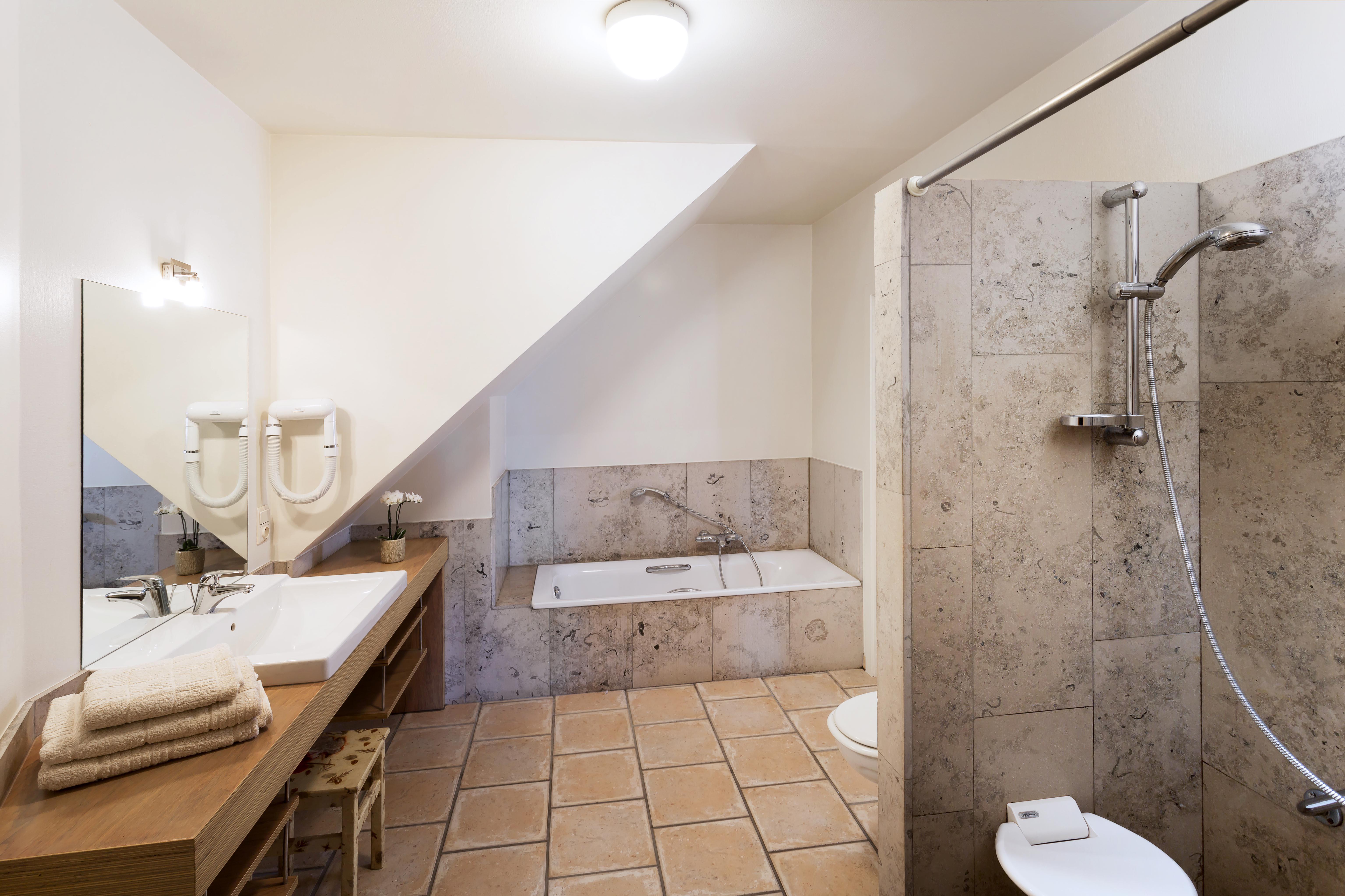 vakantiehuis aan zee domein Rietvelde Riethuis badkamer