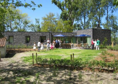 afgesloten tuin vakantiehuis aan de zee Duinpaviljoen (1)