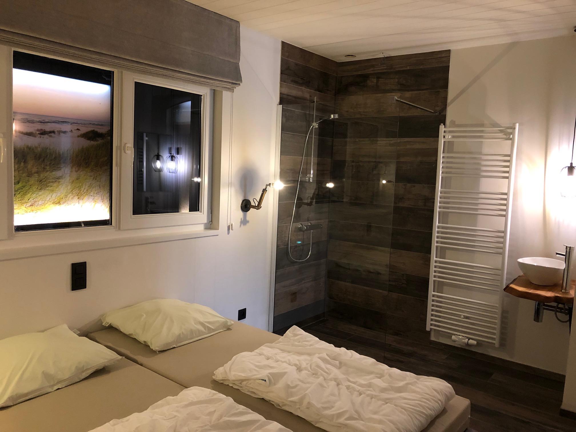 slaapkamer huisje Marcel Veldhuis