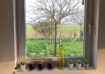 uitzicht huisje Marcel Veldhuis