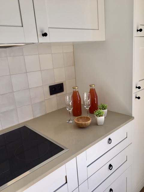 drankje in keuken