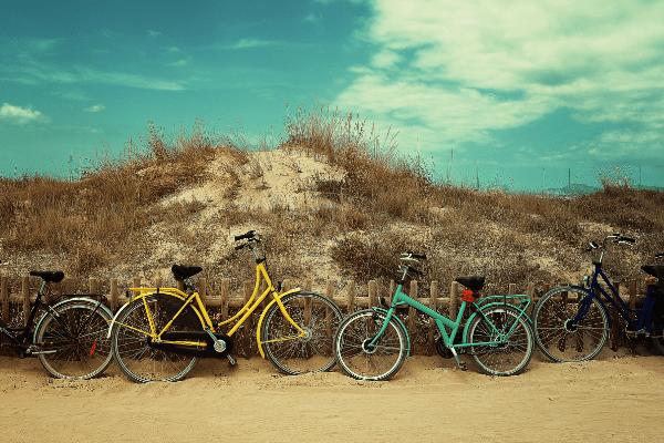 Vakantie aan de zee fietsvakantie
