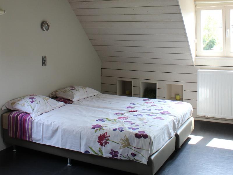 Vakantie aan de zee Duinpaviljoen slaapkamer.jpg