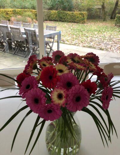 Duinpaviljoen bloemen