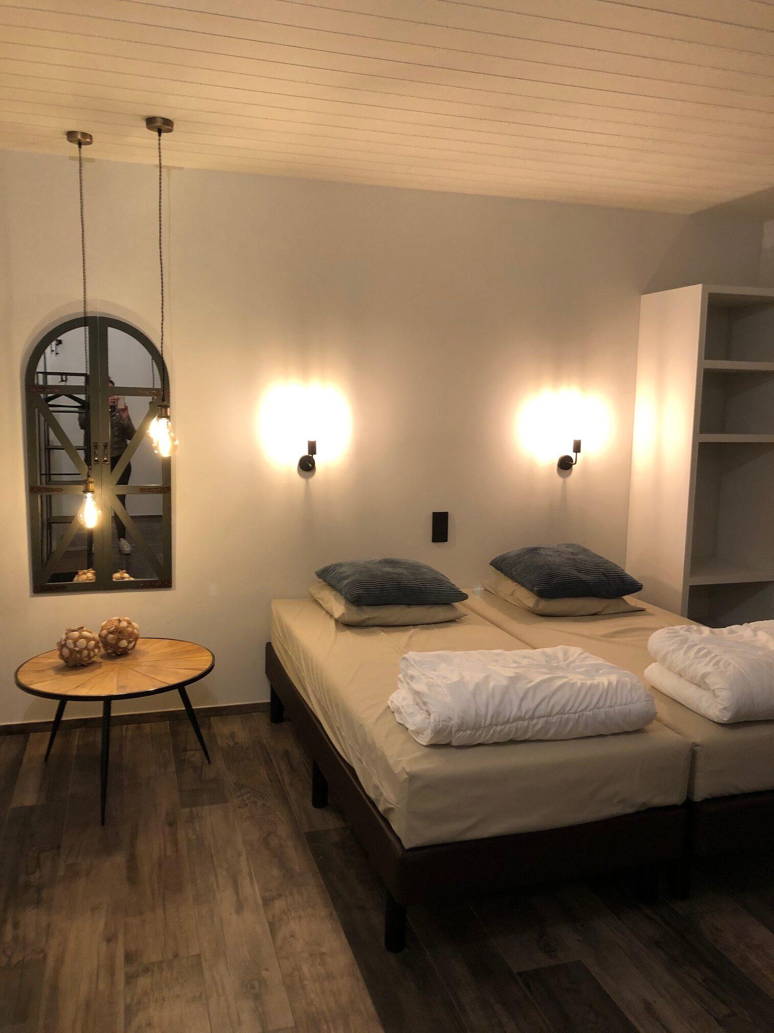 slaapkamer huisje Marcel